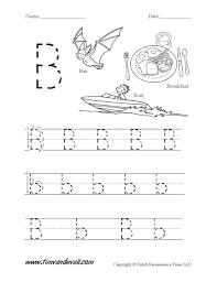 Free Printable Letter B Worksheets For Kindergarten L