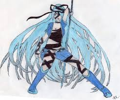 Photo Cyanthia In The Album Colored Fan Art Paper By