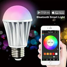 iphone controlled lighting. Smart LED Light Bulb - Smartphone Controlled Iphone Lighting