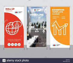 Chart Poster Design Chart Modern Business Roll Up Banner Design Template Sun