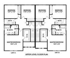 Duplex House Plan to narrow lot  Possible income I future    Duplex House Plan to narrow lot  Possible income I future        Home   Pinterest   Duplex House Plans  Duplex House and House plans