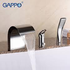 <b>GAPPO</b> роскошный кран для ванны Золотой <b>смеситель</b> для душа ...