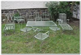 vintage woodard wrought iron patio furniture patios