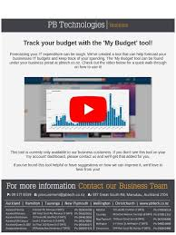 Quick Budget Tool Pb Tech Track Your Budget With The My Budget Tool Milled