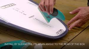 How to Insert <b>Futures Fins</b> - YouTube