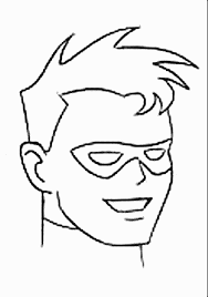 Small Picture Batman Robin Coloring Pages Online Coloring Pages