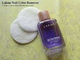 lakme nail color remover review demo