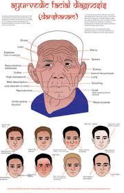 Ayurvedic Facial Diagnosis Chart Related Keywords