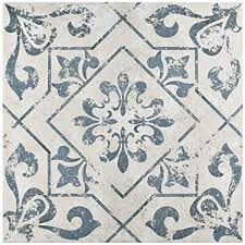 Pattern In Spanish Simple Amazon Orleans Spanish Pattern 48x48 Ceramic Tile Home Improvement