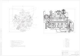 Курсовые и дипломные работы автомобили расчет устройство  Курсовая работа Расчет двигателя ЗИЛ 130