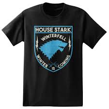 House Stark T Shirt Design Hbos Game Of Thrones Mens House Of Stark T Shirt Funny Slogan T Shirts Cool Shirt Design From Janetee 13 61 Dhgate Com