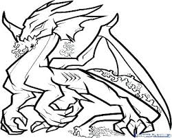 Flying Dragon Coloring Pages Free As Contencyco