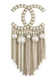 chanel brooch. chanel-brooch-spring-summer-pearls-metal.jpg chanel brooch