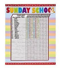 Free Printable Sunday School Attendance Sheets Mult Igry Com