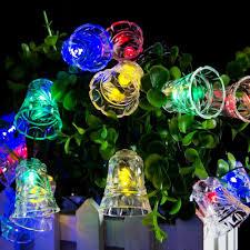 Lumiparty Led Solar Fairy String Lights Solar Outside Christmas