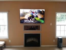 mounting tv fireplace cable box inspirational home for elegant tv above fireplace where to put cable box
