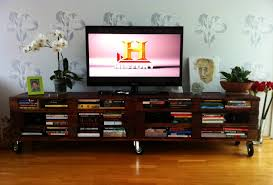 tv stand and bookcase. Beautiful Bookcase DIY TV Stand Doubles As Elegant Bookcase Throughout Tv Stand And Bookcase C