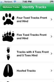 Mynature Animal Tracks Mynature Apps
