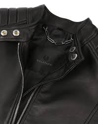 belstaff women s mollison leather biker jacket black