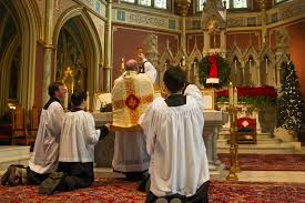 Catholic church latin mass