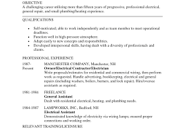 resume cover letter electrical resume examples resume awesome resume templates electrician resume examples free example resumes electrician resume cover letter