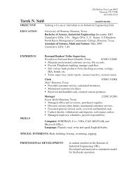 Sample Resume Objective For Customer Service Statement Part Time ...