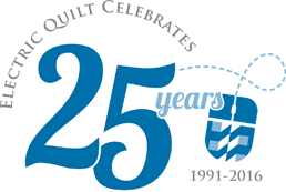 Grand Prize Giveaway | The Electric Quilt Company & Electric Quilt Company Celebrates 25 Years. 1991-2016 Adamdwight.com
