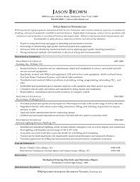 Rv Technician Resume It Technician Resume Examples Examples Of Resumes Bunch Ideas Of 2