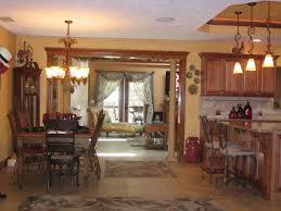 Open Kitchen Dining Living Room Open Floorplan It Is Open Through The Living Room Dining Room And