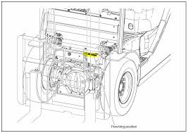 Where do I find my Toyota forklift's serial number?
