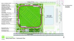 Betsy Field Design Betsy Head Park Synthetic Turf Field Track Sport Courts