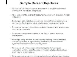 Objective Resume Examples – Armni.co