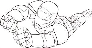 Small Picture Free Coloring Pages Iron Man Dzrleathercom