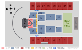 Seating Chart For Hershey Park Stadium With Seat Numbers Tickets Backstreet Boys Dna World Tour Hershey Pa At