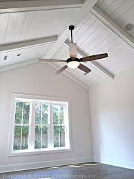 vaulted ceilings with beams for master bedroom addition needs bigger window wall and no ceiling fan