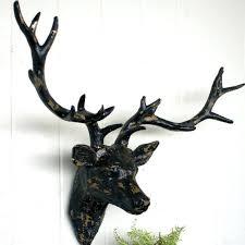 deer head wall decor deer head wall mount antique black deer head wall decor australia