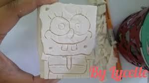 Soap Carving Designs Using Perla Soap Carving Spongebob