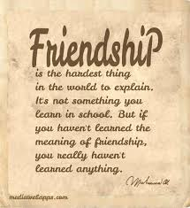 Friends Meaning Quotes Inspiration 48 Best Friendship Quotes OhTopTen