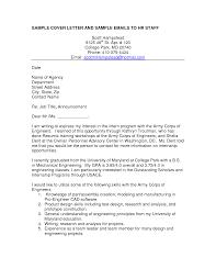 Sample Resume Letters Job Application Email Template For Job Application Sample Email For Job 76