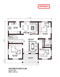 3 bhk home plan lovely 2 bedroom house plans kerala style kerala home design plan home