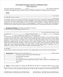 40 Purchase Agreement Contract Templates PDF DOC Free Premium Classy Property Purchase Agreement Template