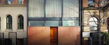 Philip Johnson Rockefeller Guest House Facade Full Width Tall « Inhabitat –  Green Design, Innovation, Architecture, Green Building