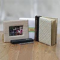 handcrafted journal pen and photo frame kiva thinker gift set 3