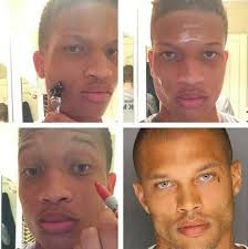 4 a weird trend of guys posting makeup transformation pics on insram