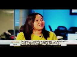 SOLAR DAYBREAK: Aileen Lucero, EcoWaste Coalition national coordinator -  YouTube