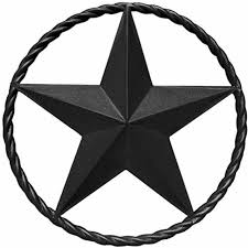 texas star wall art outdoor outside