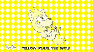 Yellow pearl the wolf( Me as a little gem wolf ) - YouTube