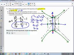 chapter 10 section 5 hyperbolas