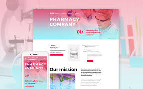 pharmacy design company drugstore site template