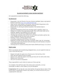 Resume For Cooks Beauteous Great Line Cook Resume Samples Images Gallery Fast Food Cook